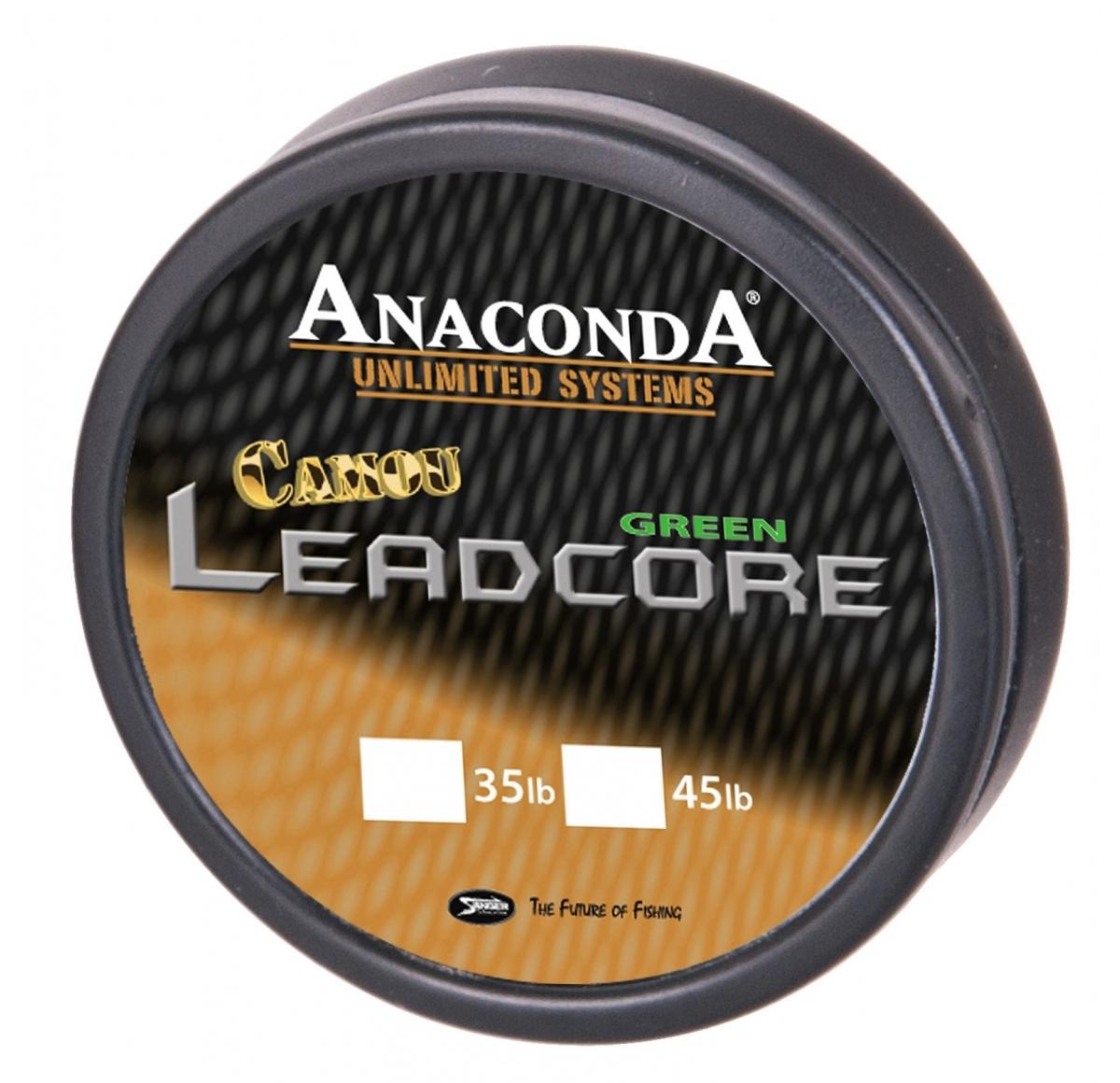 ANACONDA Camou Leadcore 35lb 10m CB