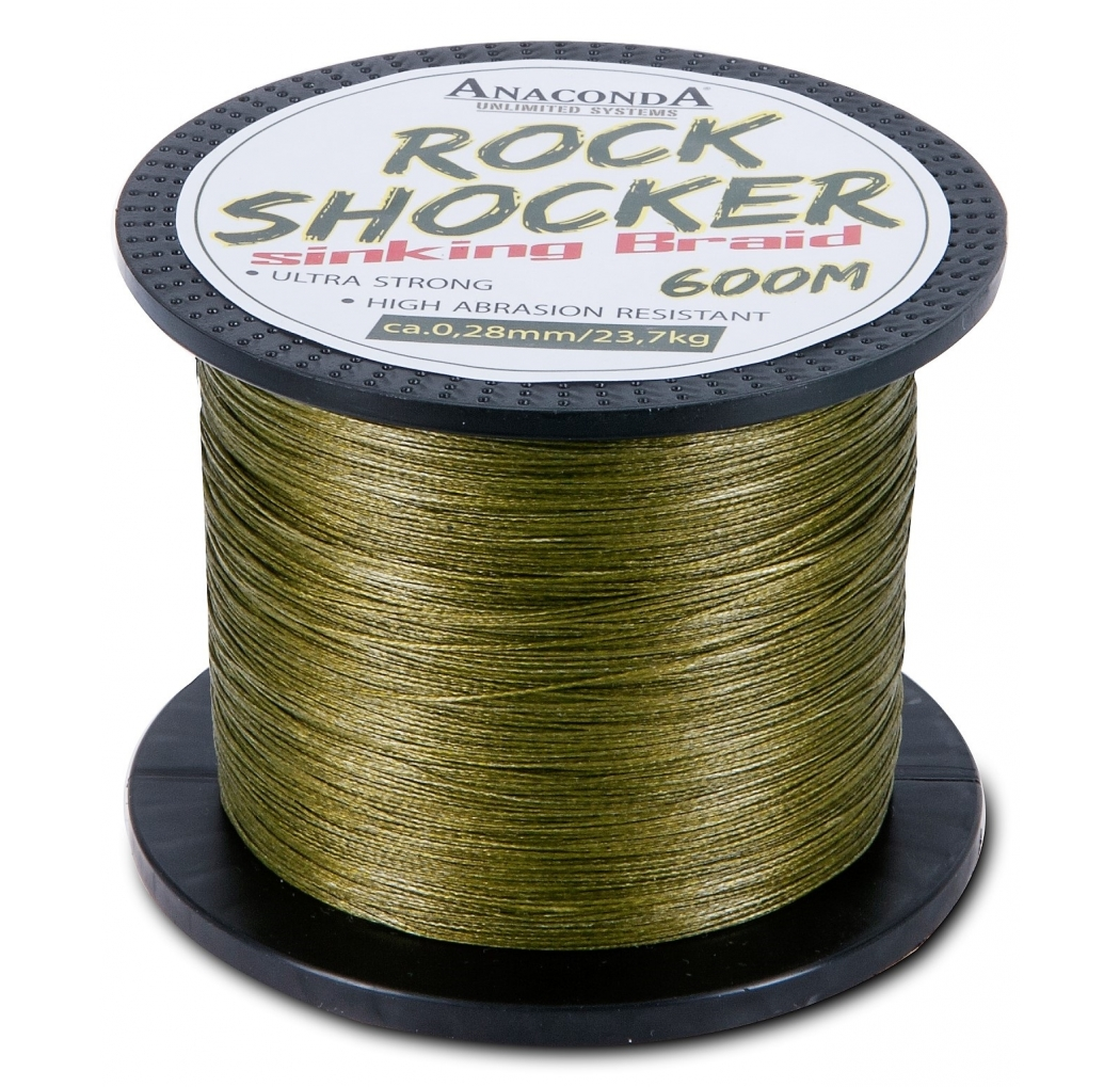 ANACONDA Rockshocker sinking Braid 600m 0.35mm
