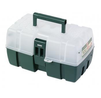 Prosperveil 5 F/ächer Aufbewahrungskoffer Box PVC Fischk/öder L/öffel Haken Bait Tackle Box