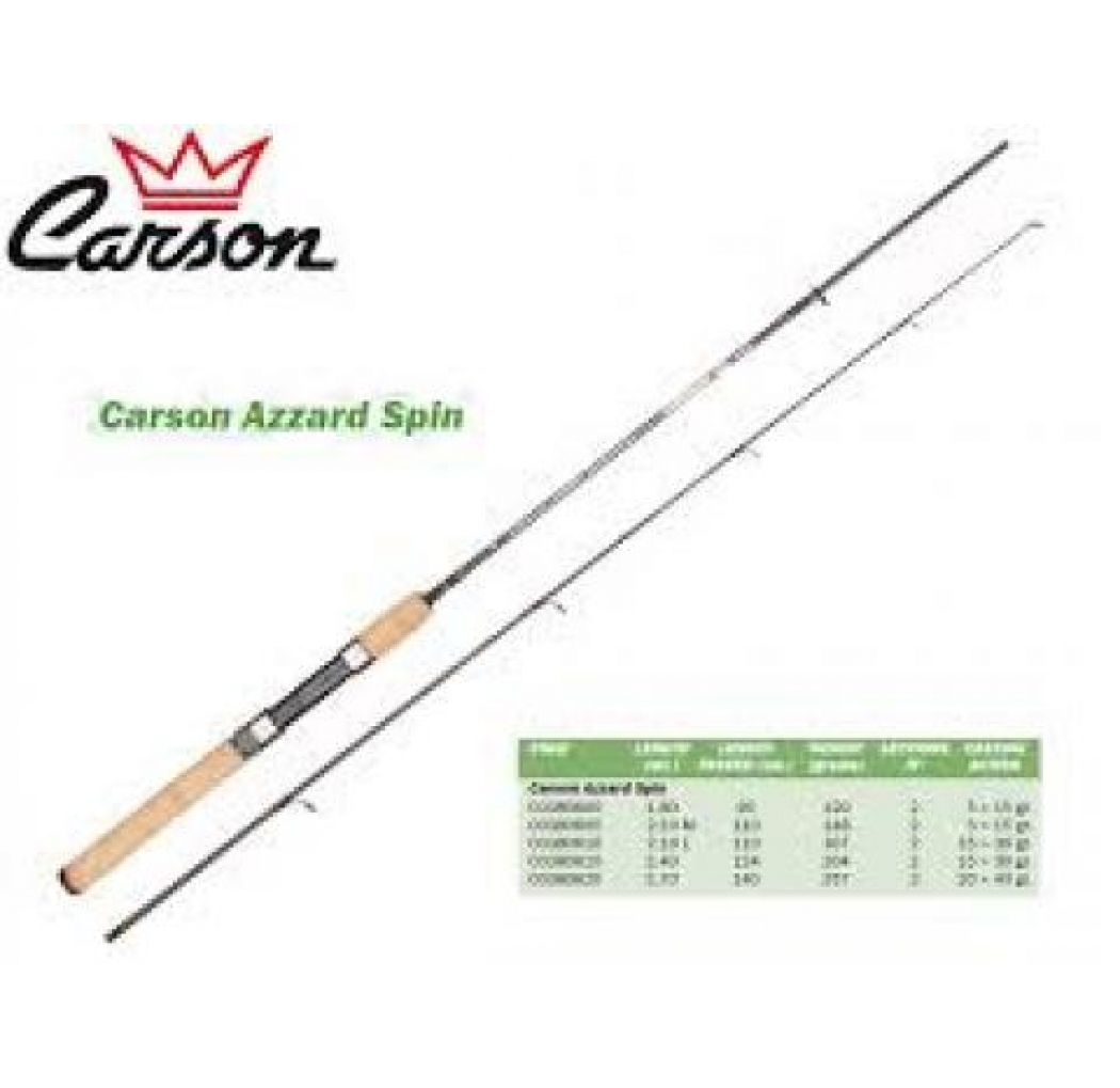 Carson Azzard Spin 240 cm 15-30g