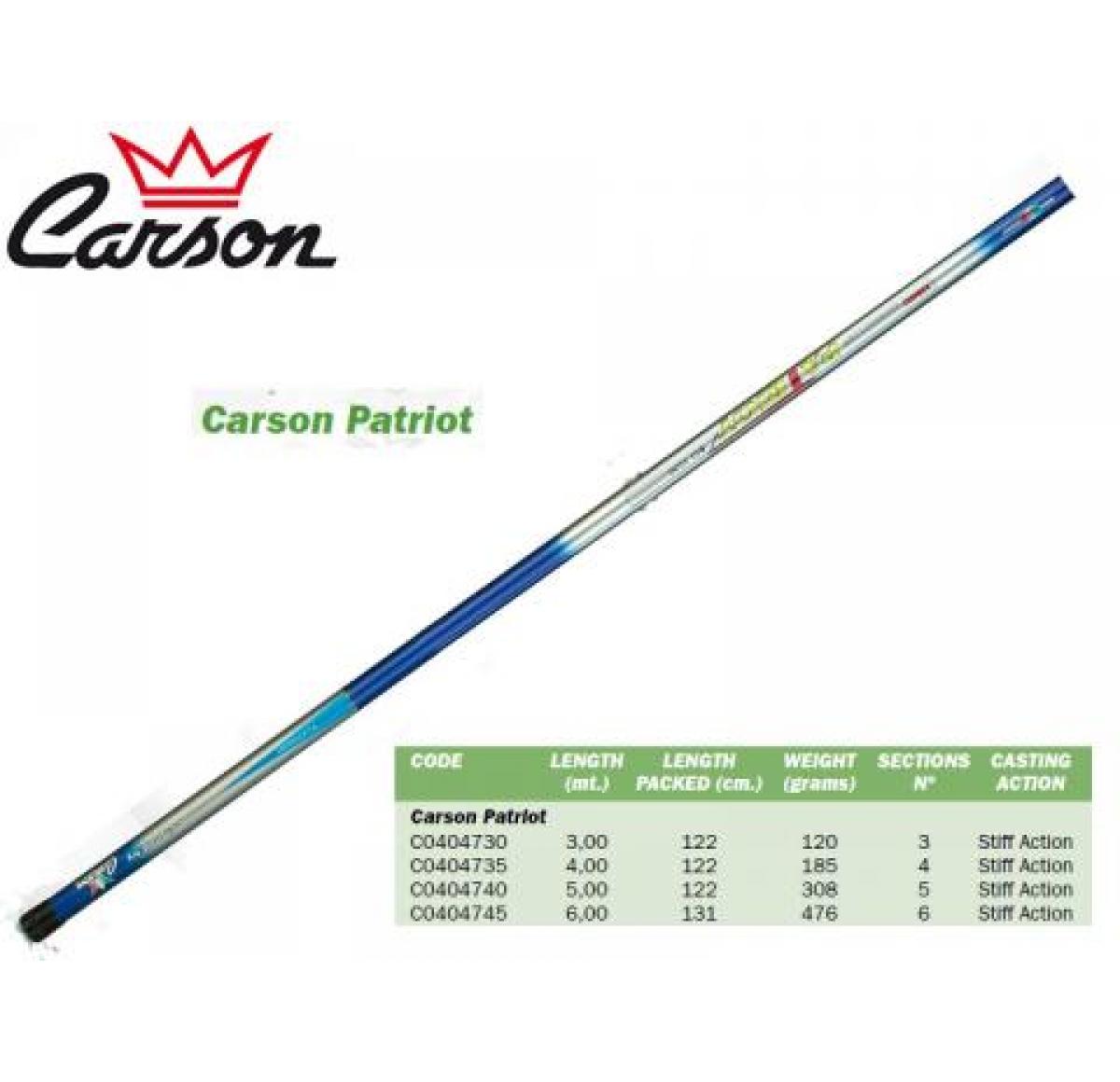 Carson Patriot Bolognese 500