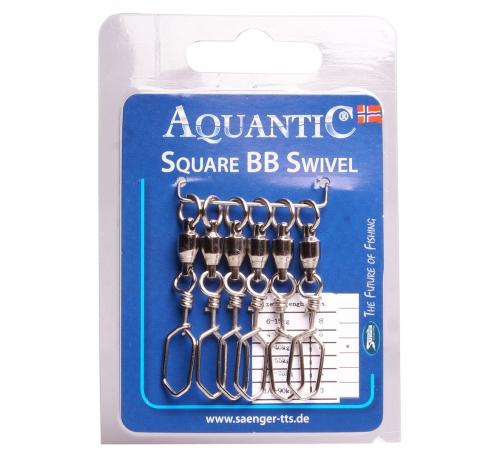 AQUANTIC Square BB Swivel 1/0