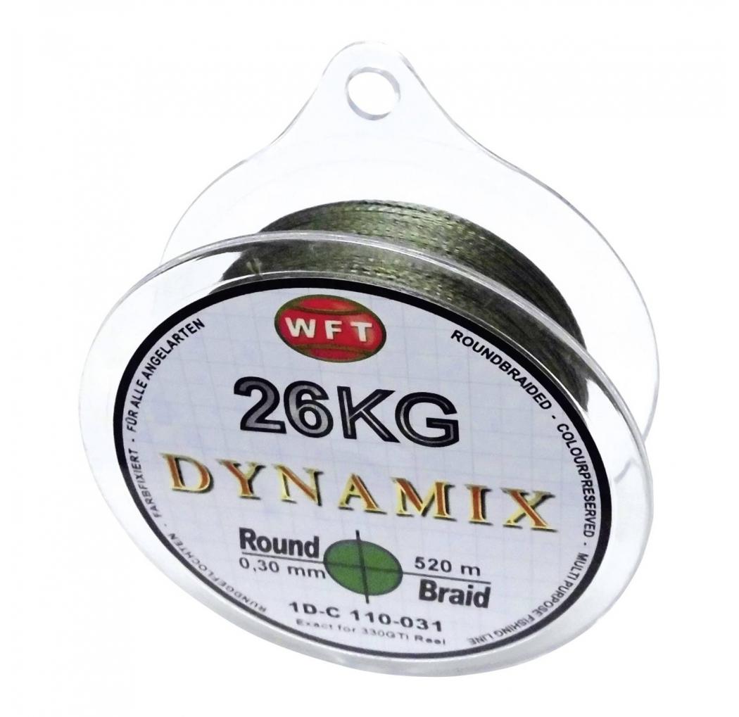 WFT Round Dynamix green 0.30mm 26 KG 350 m