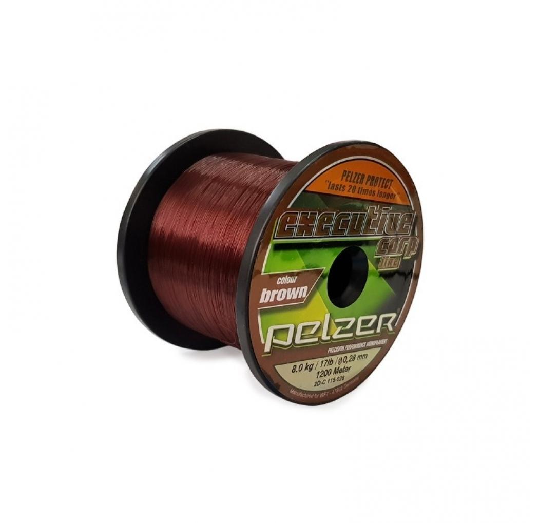 Pelzer Executive Carp Line 0.30mm 1200m brown