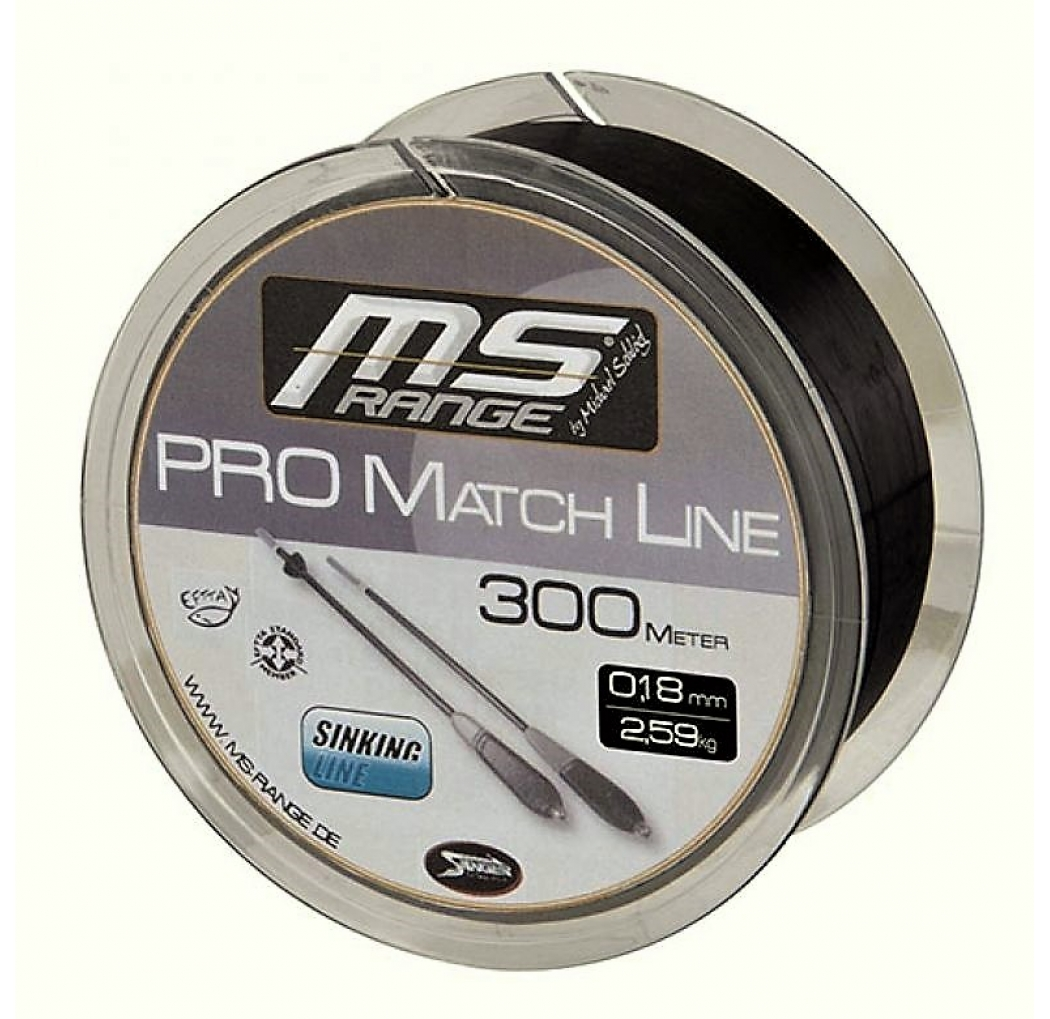 MS RANGE Pro Match Line 0.18mm 300m