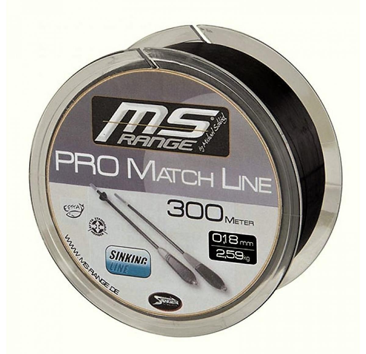 MS RANGE Pro Match Line 0.18mm 300m