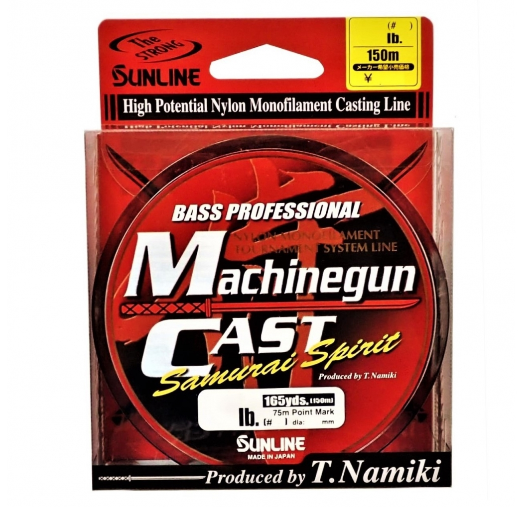 Sunline Machinegun Cast 150m 0.310