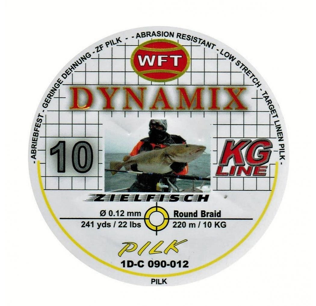 WFT Dynamix Pilk yellow 220m 10KG