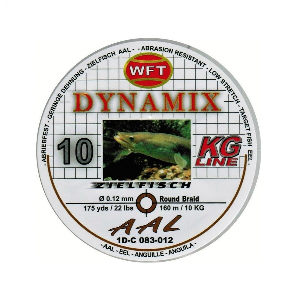 Braid WFT Dynamix Aal brown 0.12mm 10kg 160m