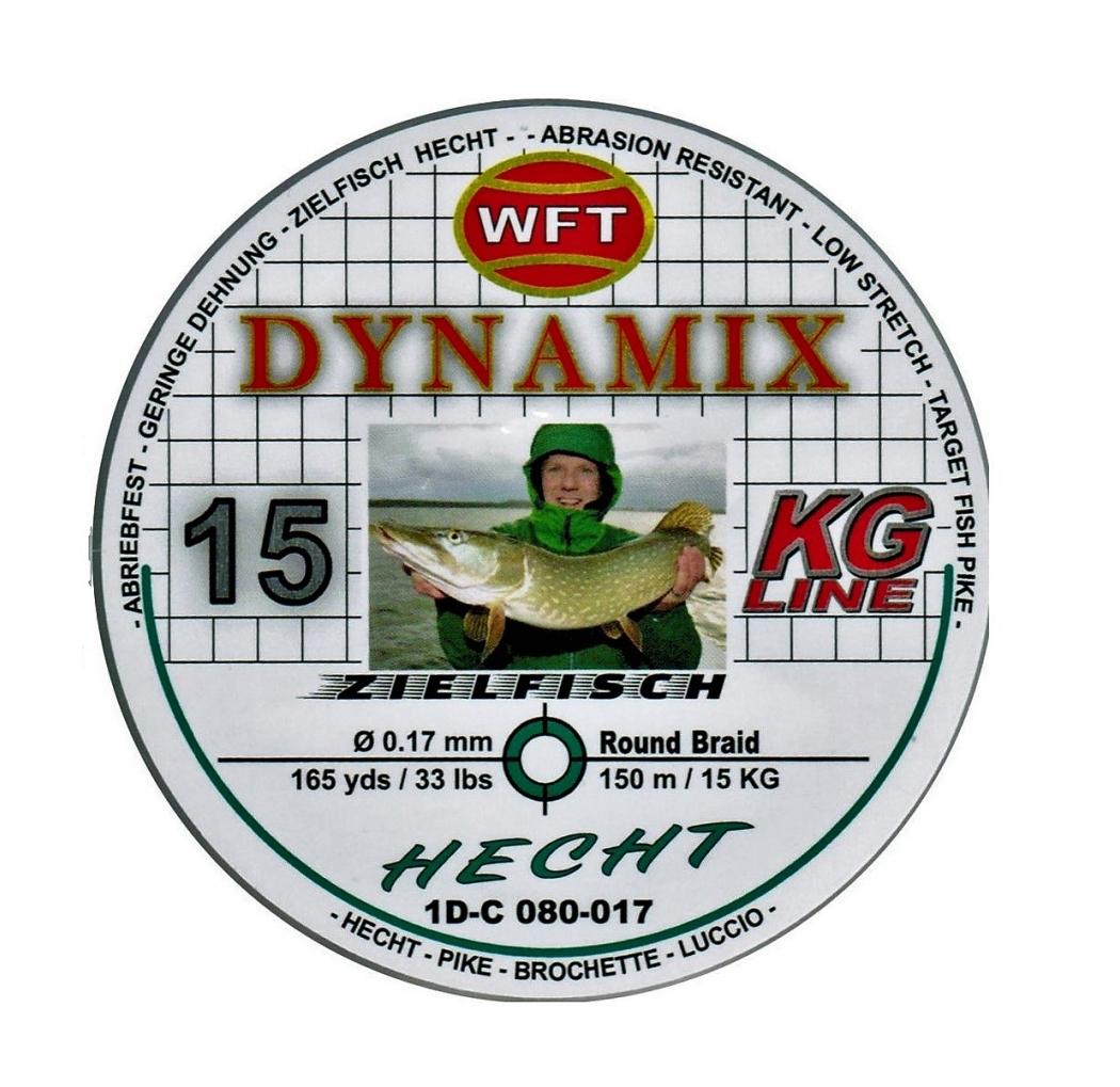 Braid WFT Dynamix Hecht green 0.14mm 12kg 150m