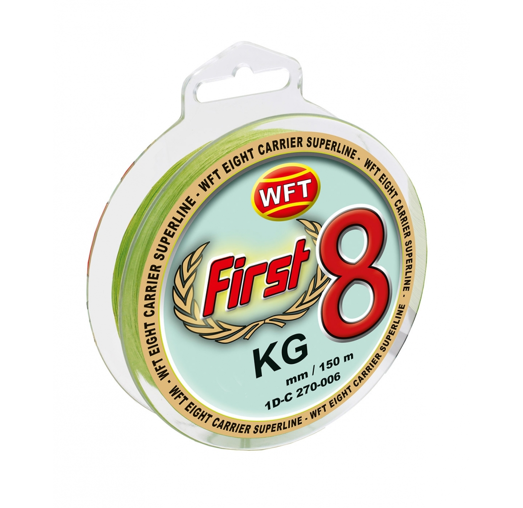 Braid WFT First Eight Mint 0.18mm 17kg 150m