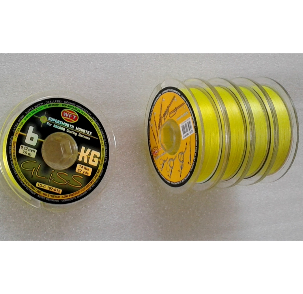 WFT GLISS 6KG Monotex Yellow 75m 0.12mm