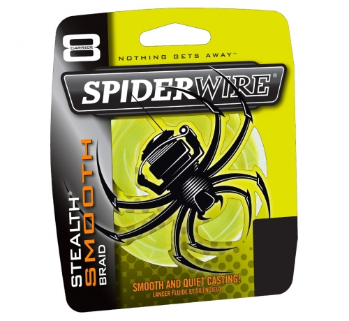 Spiderwire STLTH Smooth8 150m 6lb 0.08mm YELLOW
