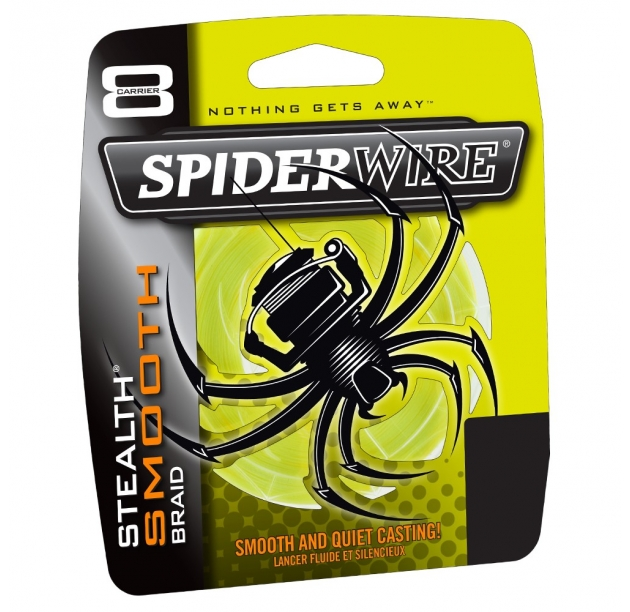 Spiderwire STLTH Smooth8 150m 4lb 0.06mm YELLOW